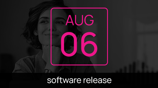 What to expect after our next software update on August 6